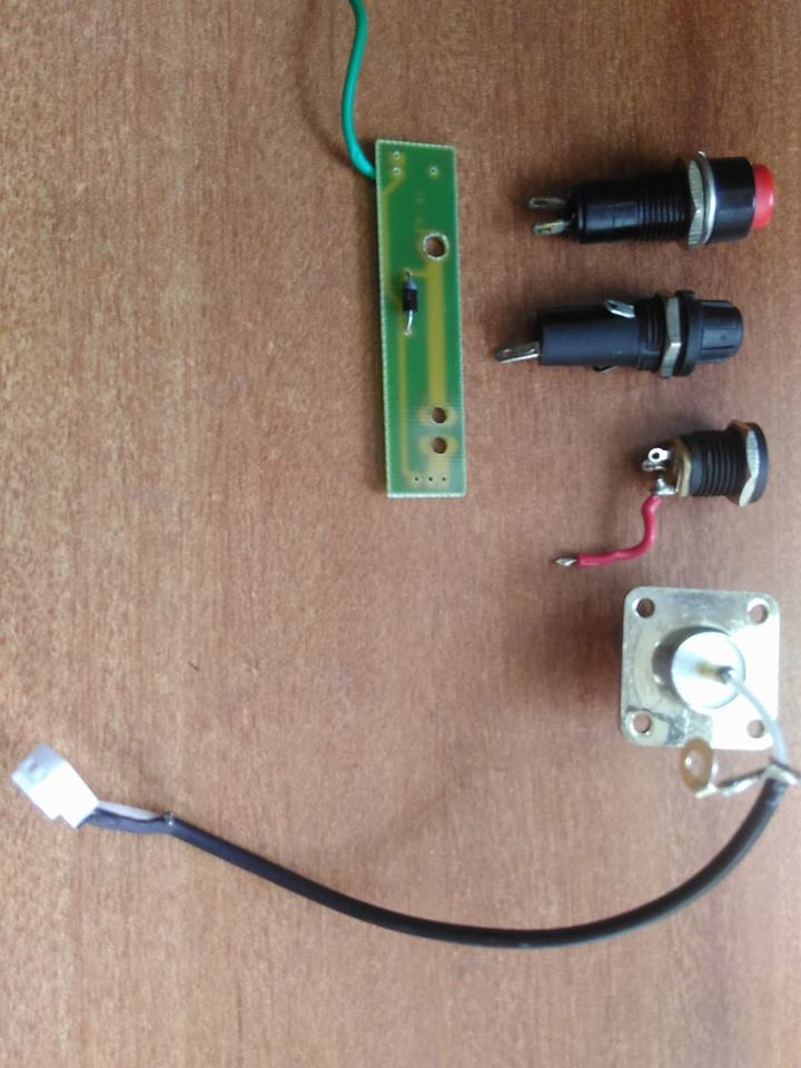 Power Adapter board and components
